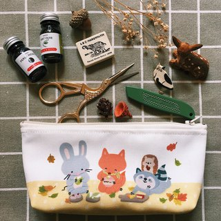 Squeaky Forest Picnic Pencil Pouch