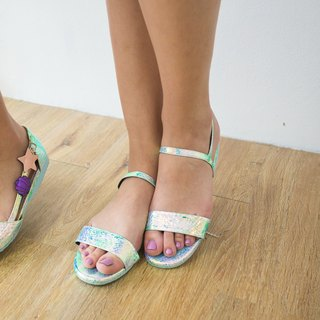Mermaid sandal rubber sole