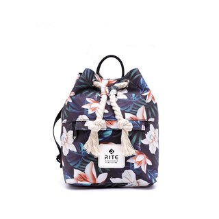 [RITE] Le Tour Series - Dual-use Boxing Small Backpack - Cream Flower