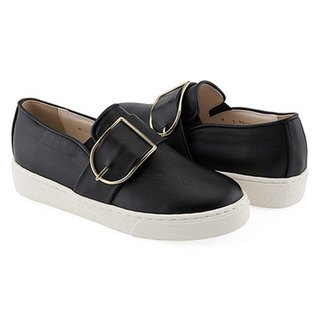 PRE-ORDER – CLLIB ZENN_FRAME BUCKLE SLIP ON MS4379 BLACK
