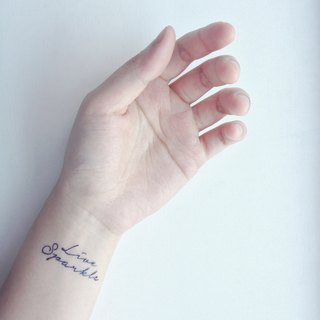 11 Quotes & Words Tattoo Sticker / Temporary Tattoo / Buy 3 get 1 free