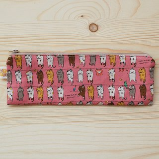 Sun kitty zipper wide bag chopsticks _ powder