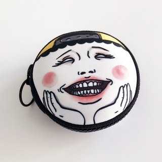 Smiling Eggheads Coin Holder