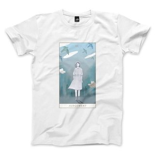 XX | Judgement - White - Unisex T-Shirt