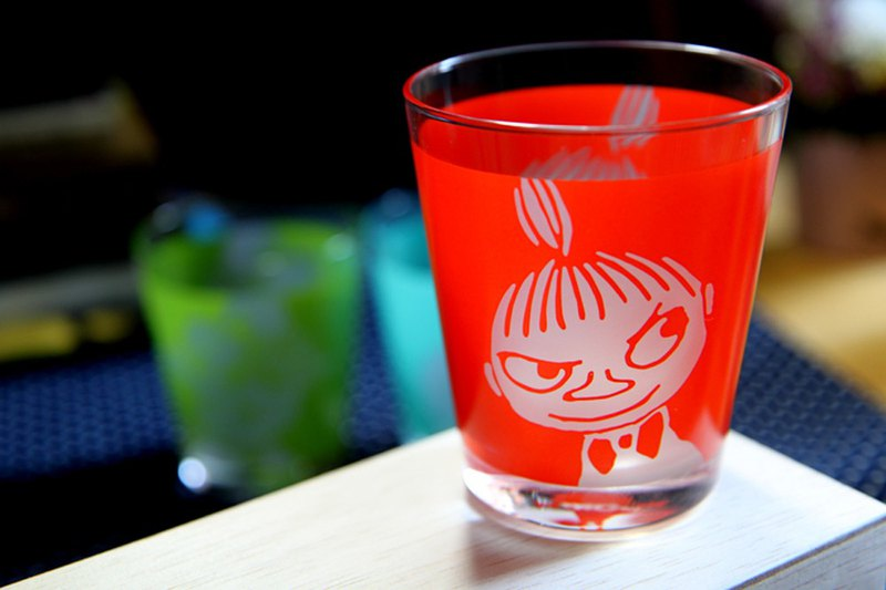 MOOMIN 噜噜米-expression series 1 into the glass (small dots)