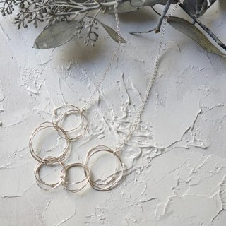 """kemuri"" simple necklace"