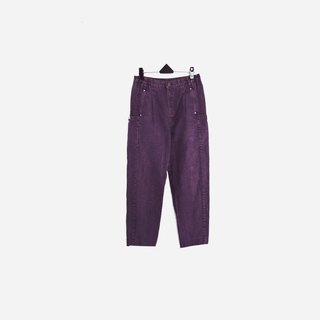 Dislocation vintage / double pocket purple jeans no.604 vintage