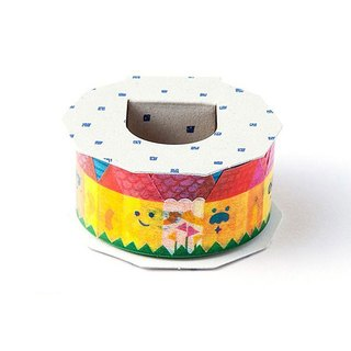 Iroha - Masking Tape - Colorful House