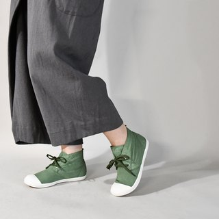 Casual shoes-KARABOOT dyeing series pine green