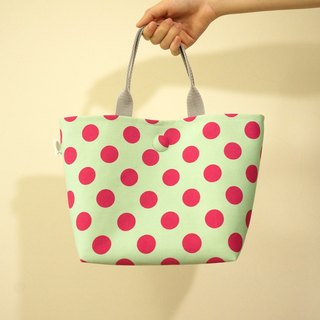 / Fun music - green / / handbag / small Tote bag / small shopping bag