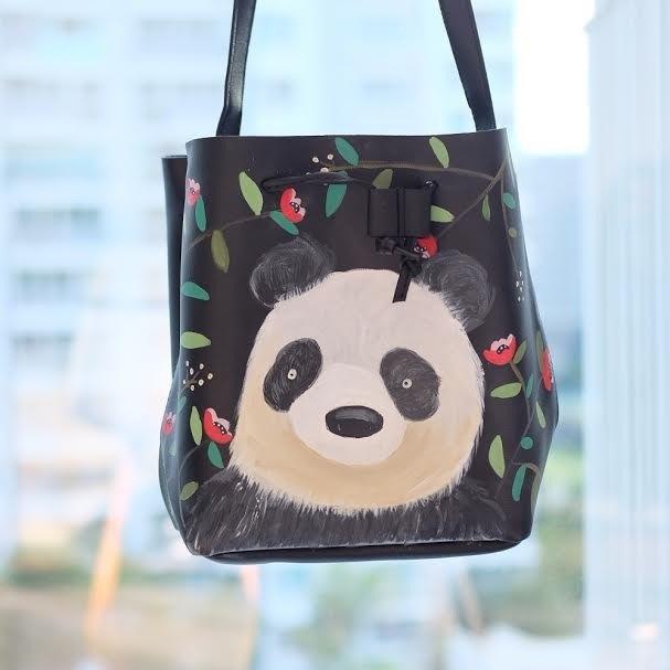 熊貓水桶包
