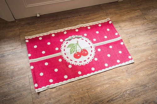 French cherry series mats