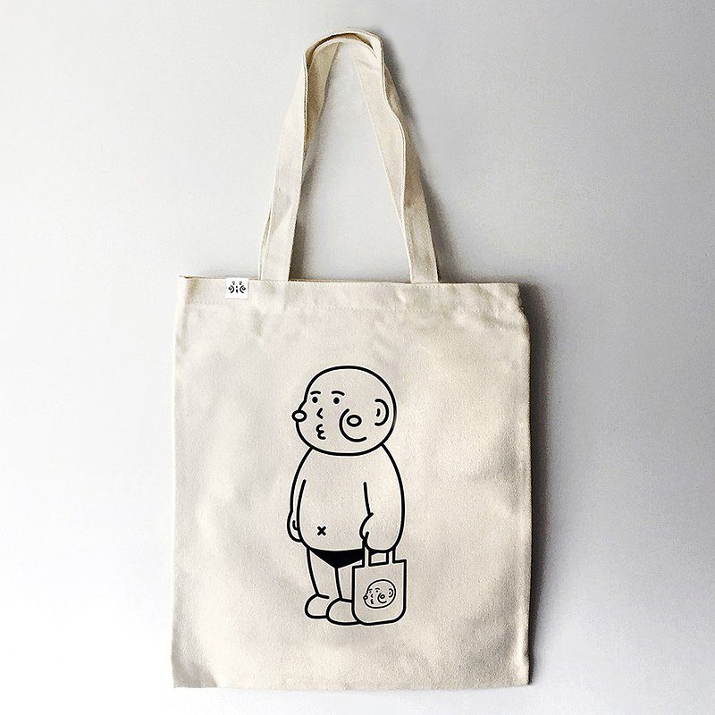 cheeky cheeky boy thick face tote bag canvas tote bag