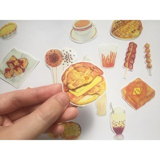Hong Kong Series - Hong Kong Cuisine Stickers