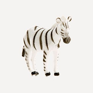 Animal Cards Block Zebra ·