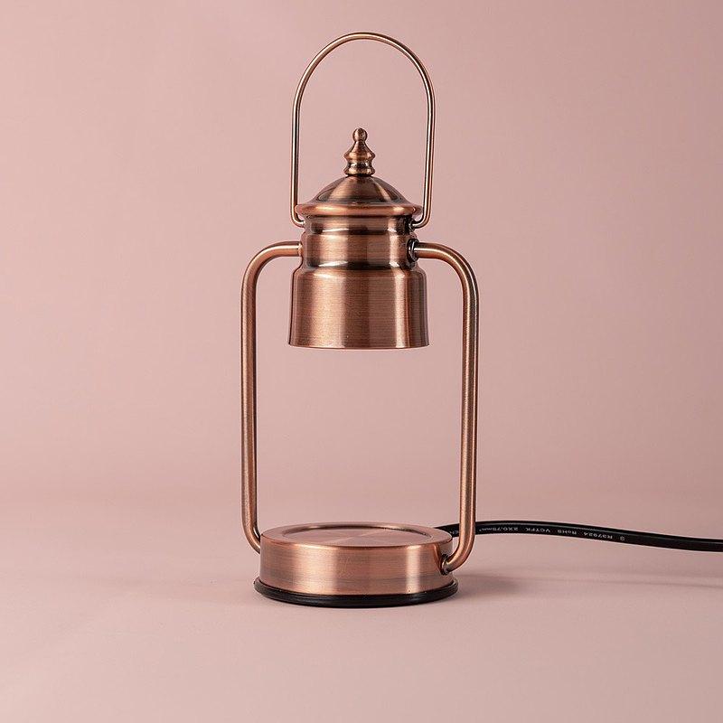 Vana Candles香氛暖燈-復古金屬(小)紅銅款 送蠟燭!!