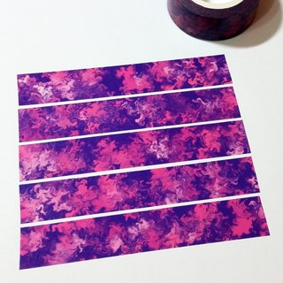 Masking Tape Purple Cheongsam