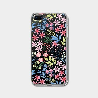 Springfield flowers | 2-in-1 printed transparent phone case