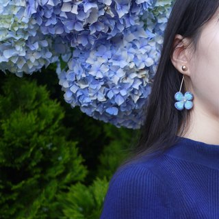 【Flower Room Culture Manual Embroidery】Embroidery Earrings