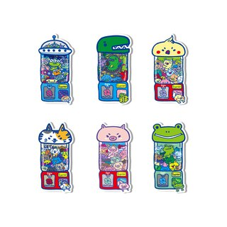 Waterproof sticker - cute tome machine