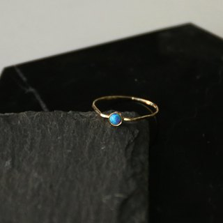 Japanese Handmade Ornaments - Sleeve Pearl Light Ring | Cosmic Blue