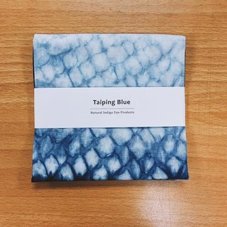 Blue stained handkerchief (small)