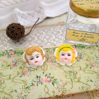 Garohands American Antique Doll Head Mini Hand Feet * Adam Chia Fot0 F060 Gift Cute Christianity