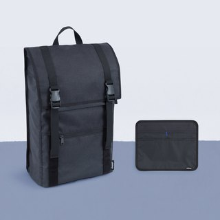 "Activities countdown D +3 backpack combination - mine black and gray ""1"""