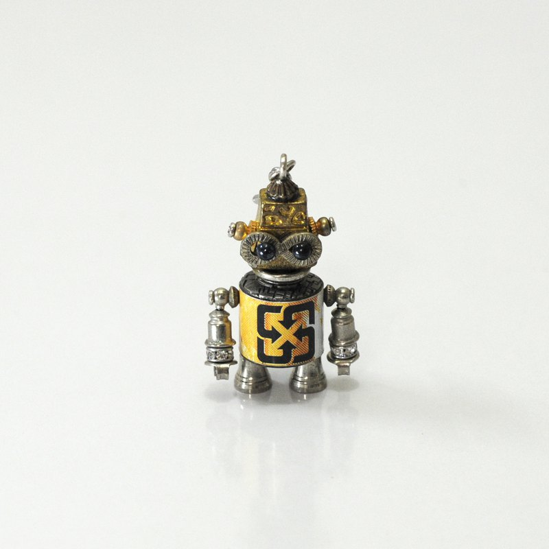 Millet Q9 Robot Necklace. Jewelry