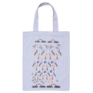Friends Forever Zippy Tote (Blue)