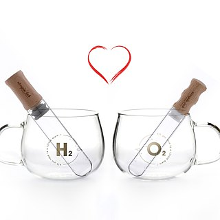 ELIXIR glass tea stick | couple set