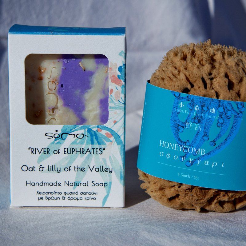 [body bathing] honeycomb + lily of the valley soap