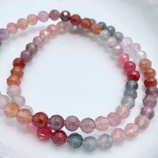 5mm high quality gem grade brilliant spinel bracelet (single circle)