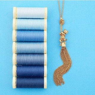Kitten and Tassel Necklace