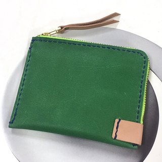 <100% Off Spot Style> Convenient Banknote Coin Purse - Summer Green Dual Color