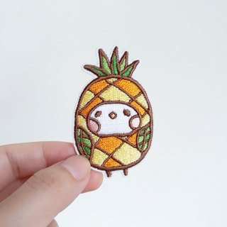 Taiwan fruit pineapple embroidery / pin