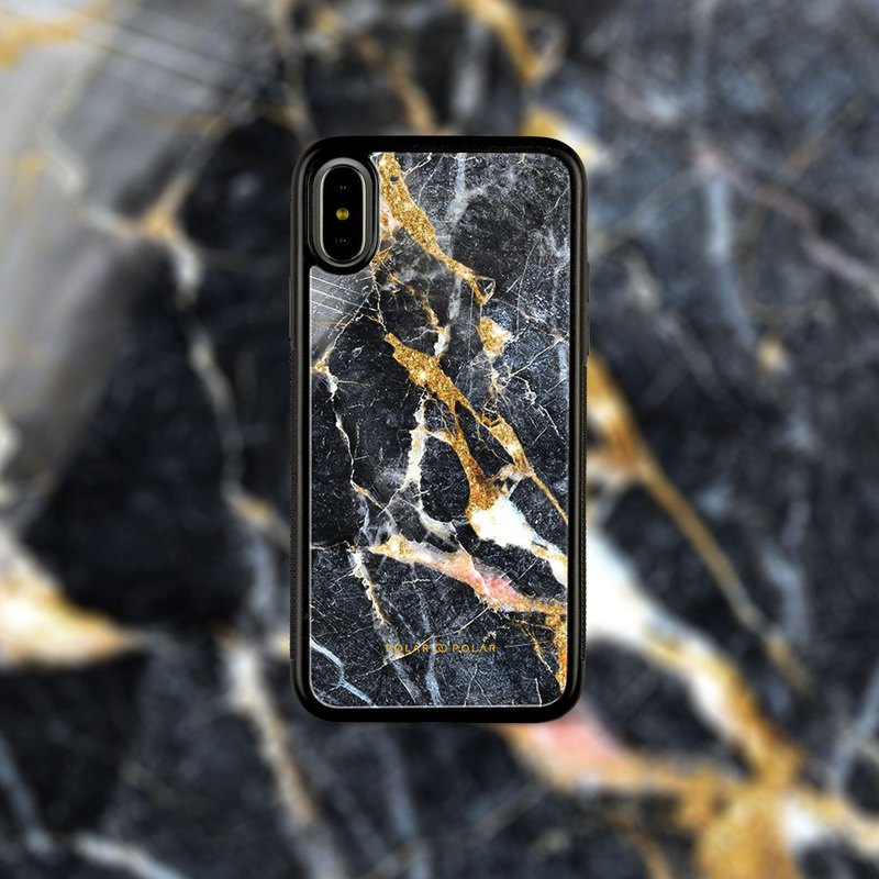 Polar Polar Winter Forest iPhone Tempered Glass Case