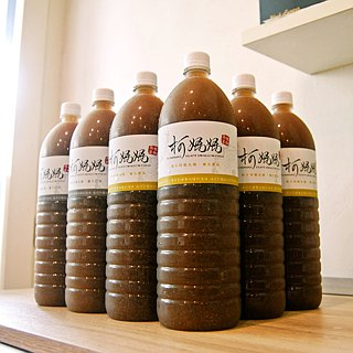Black fungus health │ vegan drink (original, brown sugar, ginger) x 12 large bottle (1500ml)