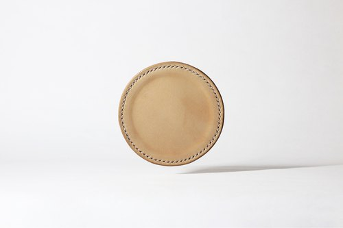 #005 leather coasters (three in).