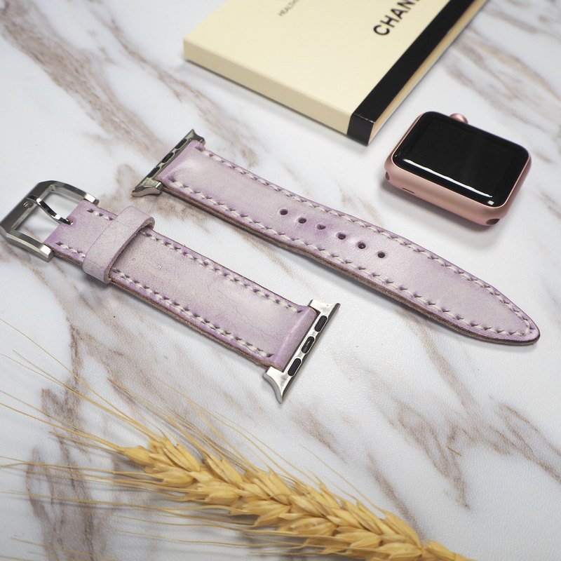 Hand stitching leather Strap for Apple Watch (38MM)