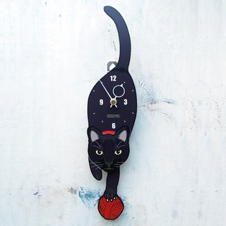 C-17 Black Cat- Pet's pendulum clock