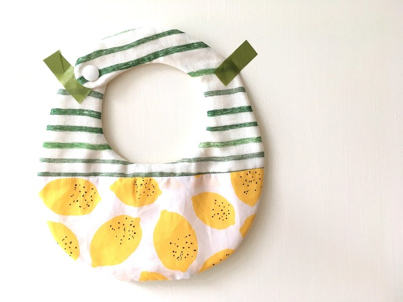 baby bib pocket good vitality lime green