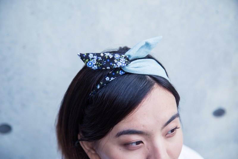 Soft wire hair band headband fresh flowers ::: :::