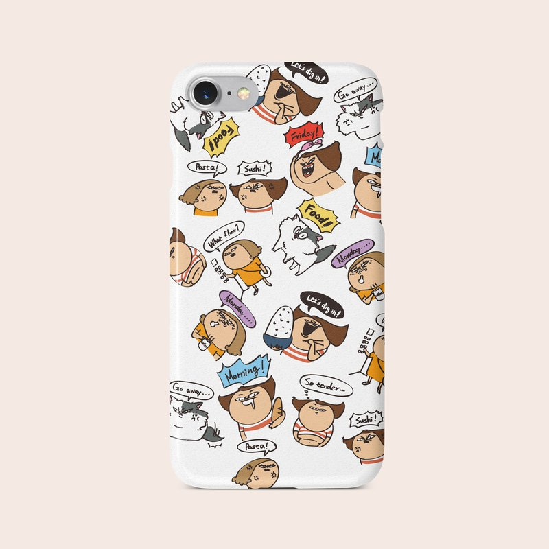 "Phone Case ""Everyday Comic Out of Control"" design by Bimei A005CC001"
