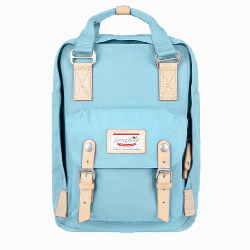 Doughnut Waterproof Macaron Backpack - Marine Blue Citrus