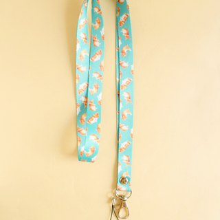 Toffee Rabbit Lanyard