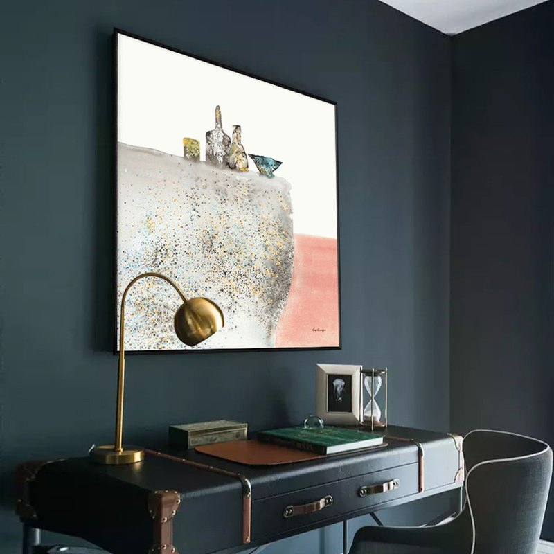 Time To Remember The Light Space Design Situation Layout Sofa Background Gallery Wall Painting Living Room Painting
