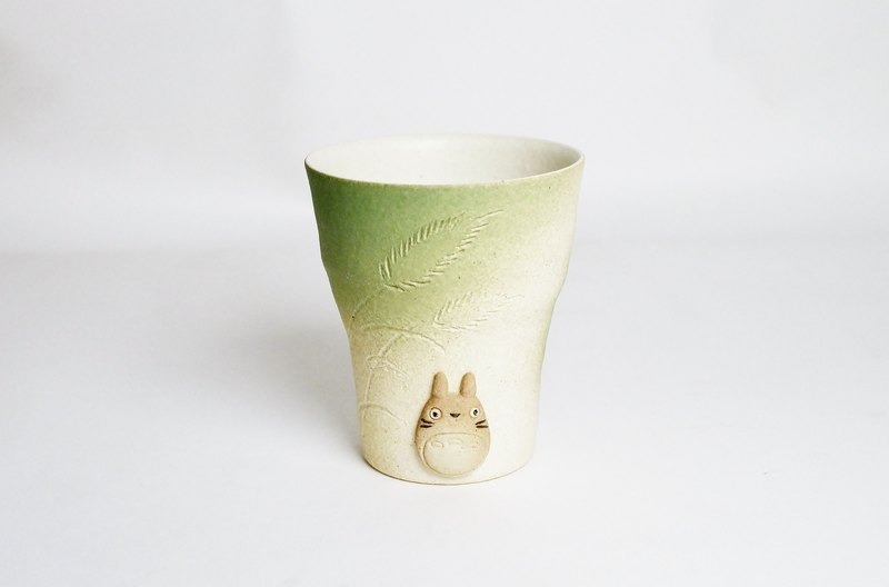 Twilight TOTORO Mug (Light Green)