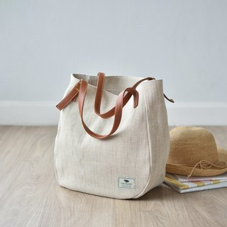 sack tote - natural(off white)