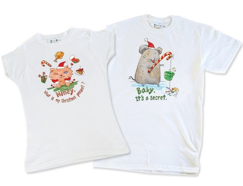 Valentine's Talking Series T-shirt _ Christmas gift